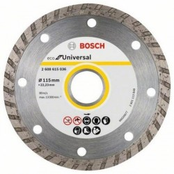 Диамантен диск BOSCH Turbo ECO Universal 115mm
