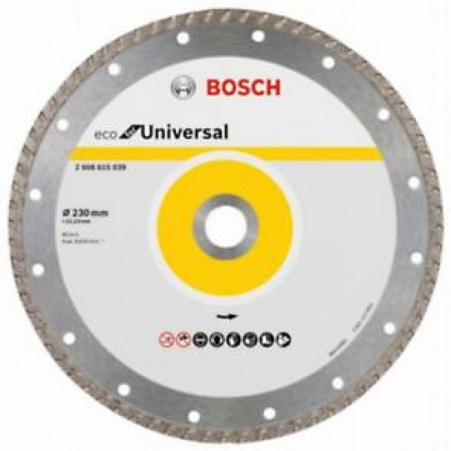 Диамантен диск за рязане ECO for Universal 230 mm x 22.23