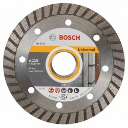 Диамантен диск BOSCH за рязане Ф115х22.23 Standard for Universal Turbo